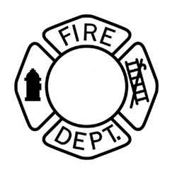 Colour the Fire Mans Badge